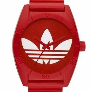 Adidas Originals Trefoil Adicolor Santiago Red NEW
